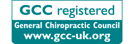 GCC General Chiropractic Council Registrants Logo Chiropractor back pain neck pain essex