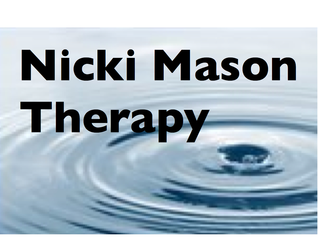Nicki Mason Therapy logo and link